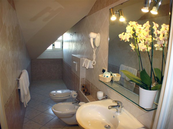 Attic Rooms Bathroom